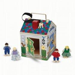 Melissa & Doug Zestaw Domek Doorbell House z figurkami