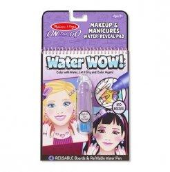 Melissa & Doug Kolorowanka Water Wow! Makijaż i manicure
