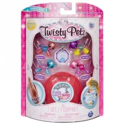 Spin Master Mini Bransoletki Twisty Petz Twin Babies 4-pak 20103015