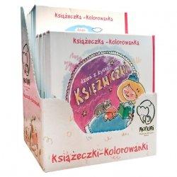 Monumi Książeczka harmonijkowa do kolorowania display naladowy, 8 sztuk