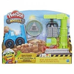 Hasbro Masa plastyczna Play-Doh Wheels Dźwig i wózek widłowy