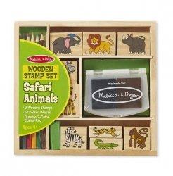 Zestaw pieczątek - Safari