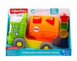 Fisher Price Sorter Edukacyjna ciężarówka