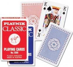 Piatnik Karty Pojedyncze Ekspozytor 12 sztuk - po 4 sztuki z 3 rodzajów