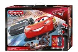 Carrera Tor wyścigowy GO!!! Disney-Pixar Auta - Lets Race! 6,2m