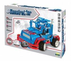 Dromader Zestaw konstrukcyjny Konstruktor - Auto na radio, 464 elementy