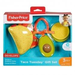 Fisher Price Zawieszki sensoryczne zestaw Taco
