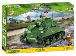 Cobi Klocki Klocki Historical Collection Sherman Firefly - amerykański czołg średni