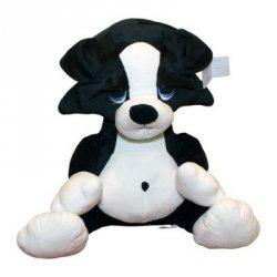 Axiom Pluszak Pies Bruno biało-czarny 45 cm