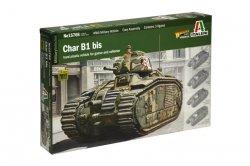 Italeri Model plastikowy Char B1 Bis