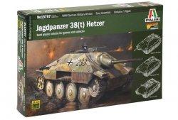 Italeri Model plastikowy Jagdpanzer 38t Hetzer