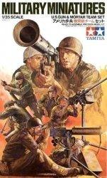 Tamiya Model plastikowy Zespół U.S Gun and Mortar