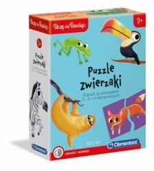 Clementoni Puzzle Zwierzaki