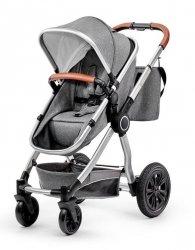 Kinderkraft Wózek wielofunkcyjny 3w1 Veo czarny