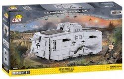 Cobi Klocki Klocki Mała Armia Sturmpanzerwagen A7V 575