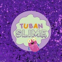 TUBAN Brokat Slime fioletowy