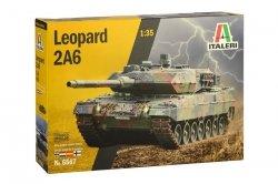 Italeri Model plastikowy Czołg Leopard 2A6