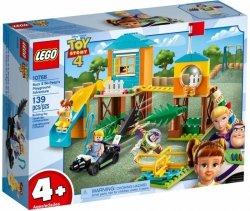 LEGO Polska Klocki Juniors Przygoda Buzza i Bou na placu zabaw