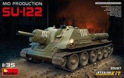 Miniart Model plastikowy Czołg SU-122 Mid Production Interior Kit