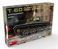 Miniart Model plastikowy Czołg T-60 Prod.Spring 1942 Interior Kit