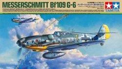 Tamiya Model plastikowy Samolot Messerschmitt BF 109G-6