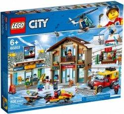 LEGO Polska Klocki City Kurort narciarski