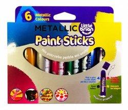 VALINOR KREDKOFARBY Metallic colours 6 kolorów