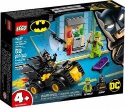 LEGO Polska Klocki Super Heroes Batman i rabunek Człowieka Zagadki