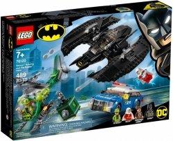 LEGO Polska Klocki Super Heroes Batwing i napad Człowieka-Zagadki