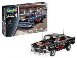 Revell Model plastikowy Samochód 1/24 56 Chevy Custom