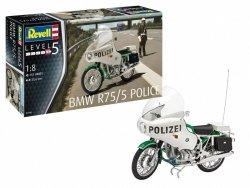 Revell Model plastikowy Motocykl 1/8 BMW R75/5 Policja