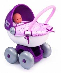 Smoby Wózek dla lalek głęboki Baby Nurse