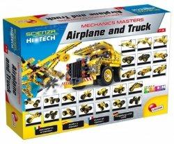 Lisciani Zestaw konstrukcyjny HI-TECH Samolot i ciężarówka