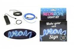 Neon niebieski