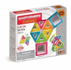 Magformers Klocki konstrukcyjne XL Neon 30 elementów