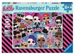 Ravensburger Puzzle 100 elementów LOL Suprprise XXL