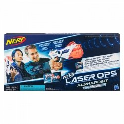 Hasbro Pistolety Nerf Laser Ops Alphapoint Dwupak