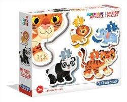 Puzzle Moje pierwsze puzzle Dzikie zwierzęta