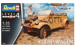 Revell Model plastikowy niemiecki samochód sztabowy typ 82 Kubelwagen