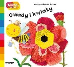 Egmont Książeczka Akademia Mądrego Dziecka. A to ciekawe. Owady i kwiaty