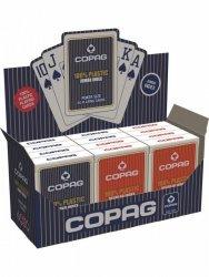 Cartamundi Karty Poker Plastik PKJ czerwone Jumbo