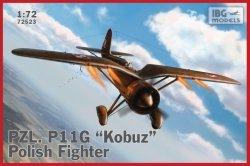 Ibg Model plastikowy PZL P.11g Kobuz