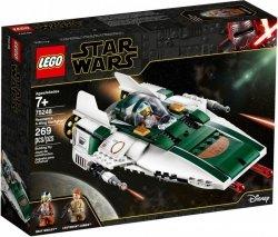 LEGO Polska Klocki Star Wars Myśliwiec A-Wing Ruchu Oporu
