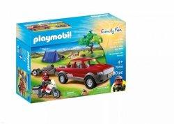 Playmobil Klocki Przygoda z pick-upem