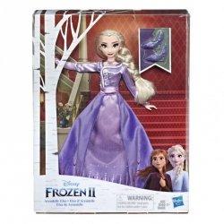 Hasbro Lalka w sukni Deluxe, Elsa Kraina Lodu 2 (Frozen 2)