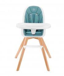 Kinderkraft Krzesełko do karmienia Tixi 2w1 turkusowe