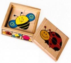 Brimarex Układanka TOP BRIGHT Puzzle w pudełku owady