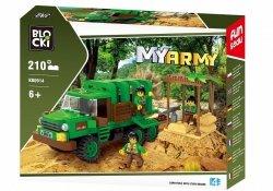 Blocki Klocki MYARMY 210 elementów Dżungla