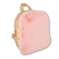 Stnux Plecak pink&gold
