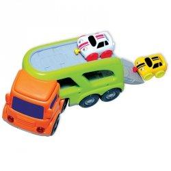 Smily Mówiące auto z lawetą - zielone